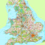 Large Detailed Map Of England - Printable Road Maps Uk