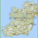 Large Detailed Map Of Ireland With Cities And Towns - Printable Road Map Of Ireland