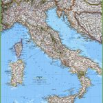 Large Detailed Map Of Italy With Cities And Towns   Printable Map Of Italy With Cities And Towns