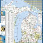 Large Detailed Map Of Michigan With Cities And Towns - Printable Map Of Michigan