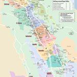 Large Detailed Map Of Napa Valley - Printable Napa Winery Map