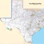 Large Detailed Map Of Texas With Cities And Towns - Printable Texas Road Map