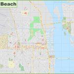 Large Detailed Map Of Vero Beach - Florida Street Map