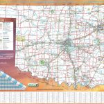 Large Detailed Road Map Of Oklahoma   Road Map Of Texas And Oklahoma