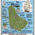 Large Detailed Tourist Map Of Barbados. Barbados Large Detailed   Printable Map Of Barbados