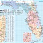 Large Detailed Tourist Map Of Florida - Map Of Florida