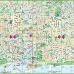 Large Detailed Tourist Street Map Of Barcelona   Barcelona Tourist Map Printable