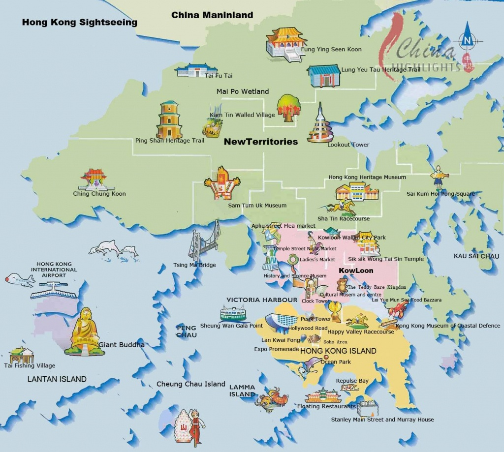 Large Hong Kong City Maps For Free Download And Print | High - Printable Map Of Hong Kong