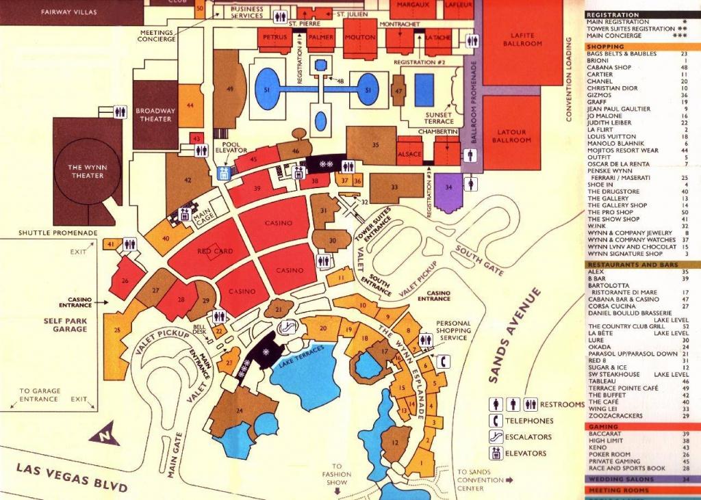 Large Las Vegas Maps For Free Download And Print   High-Resolution - Las Vegas Tourist Map Printable