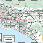Large Los Angeles Maps For Free Download And Print | High-Resolution - Los Angeles Freeway Map Printable