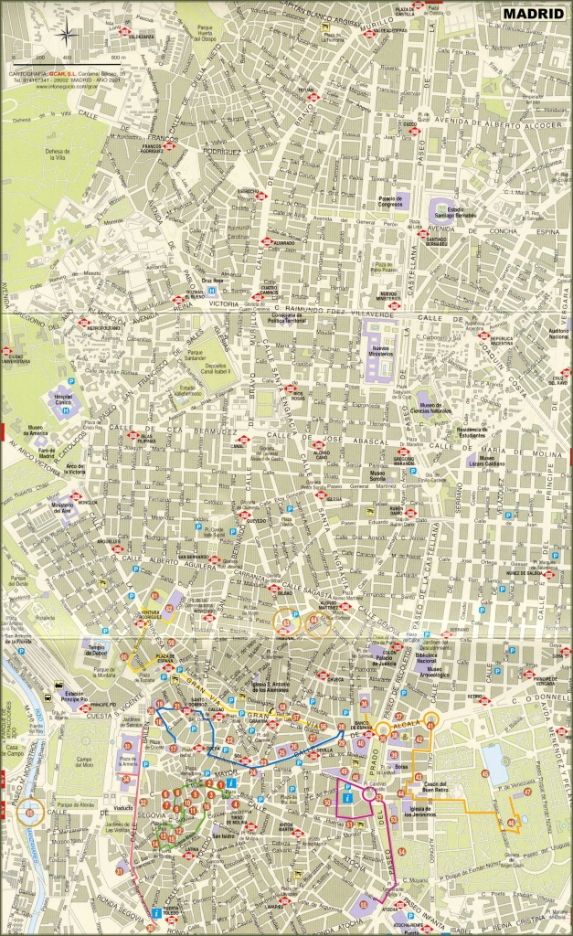 Large Madrid Maps For Free Download And Print   High-Resolution And - Printable Map Of Madrid