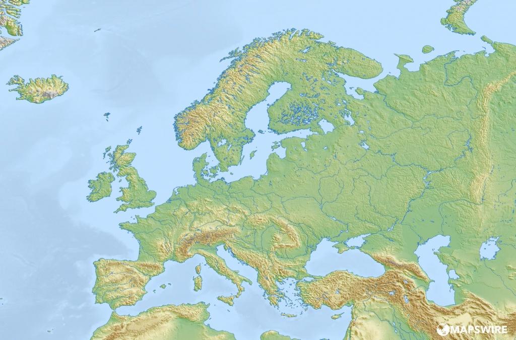 Large Map Of Europe Printable   Sitedesignco - Large Map Of Europe Printable