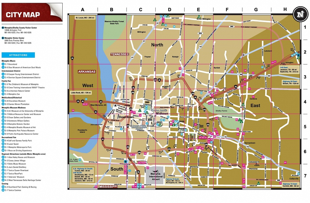 Large Memphis Maps For Free Download And Print | High-Resolution And - Memphis City Map Printable