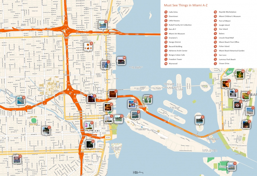 Large Miami Maps For Free Download And Print   High-Resolution And - Map Of Miami Beach Florida Hotels