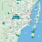 Large Miami Maps For Free Download And Print | High Resolution And   Street Map Of Downtown Miami Florida