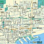 Large Montreal Maps For Free Download And Print | High-Resolution - Printable Map Of Downtown Montreal