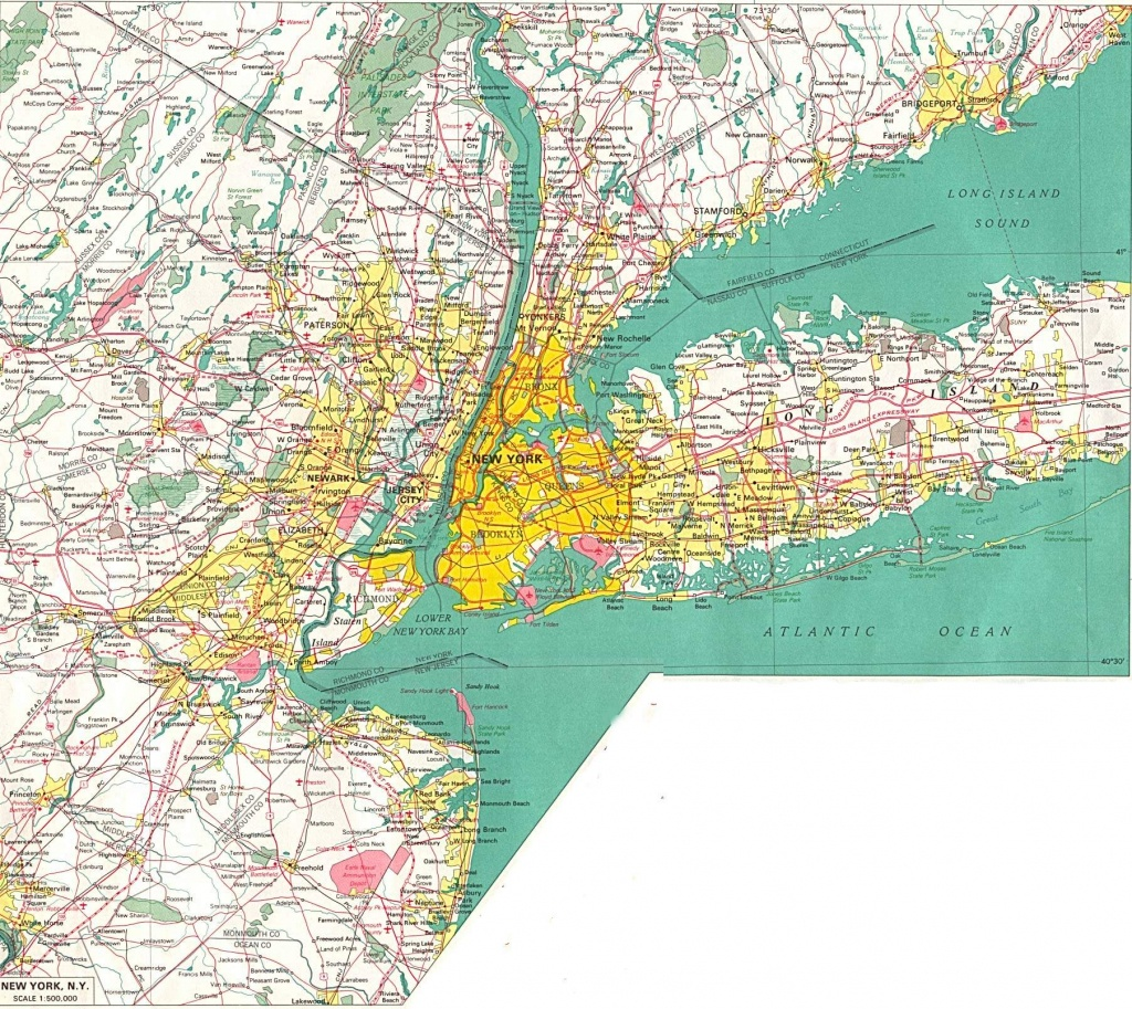 Large New York Maps For Free Download And Print | High-Resolution - Road Map Of New York State Printable