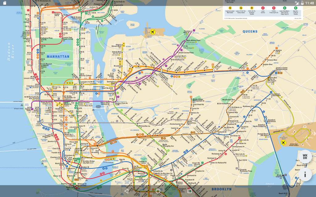 Large Nyc Subway Maps | World Map Photos And Images - Printable New - Printable New York Subway Map