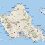 Large Oahu Island Maps For Free Download And Print | High Resolution   Oahu Map Printable