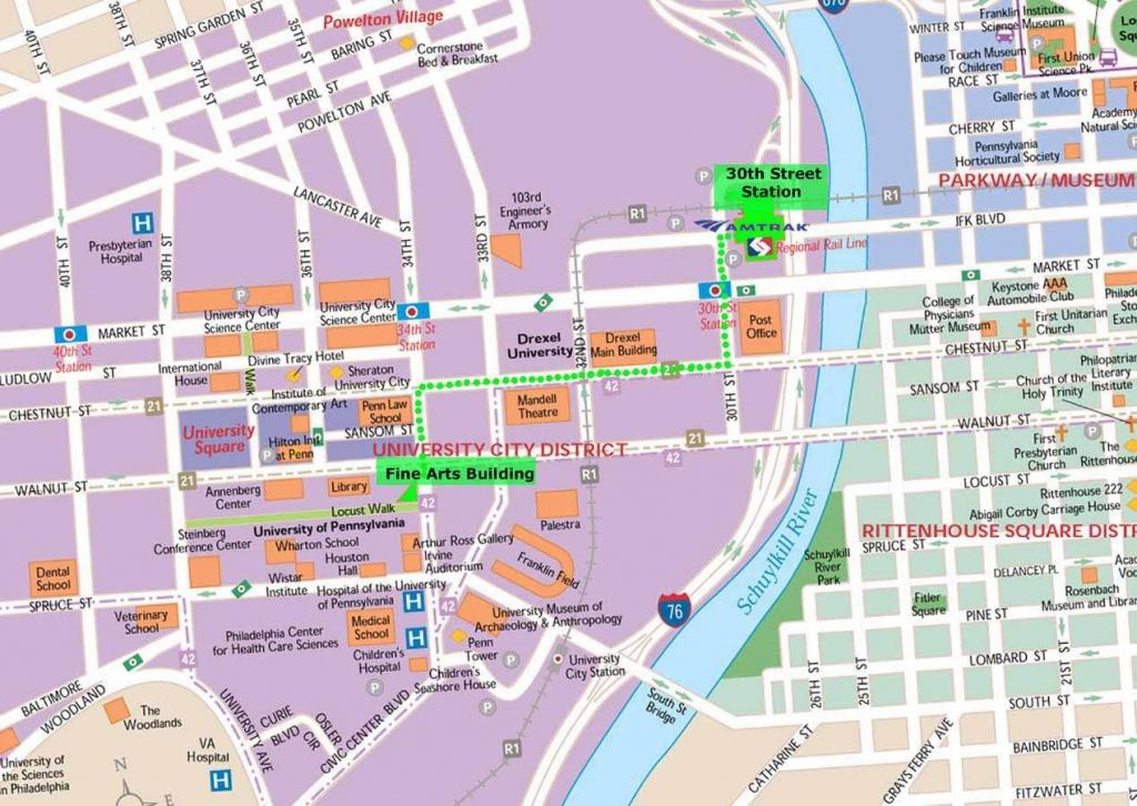 Large Philadelphia Maps For Free Download And Print   High - Printable Map Of Philadelphia
