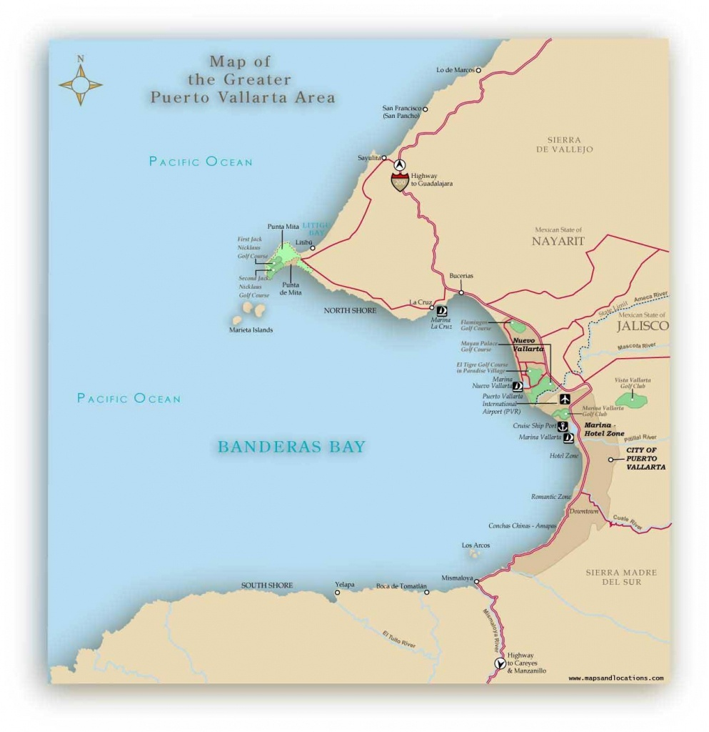Large Puerto Vallarta Maps For Free Download And Print | High - Puerto Vallarta Maps Printable