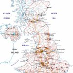 Large Road Map Of The United Kingdom Of Great Britain And Northern - Printable Road Maps Uk