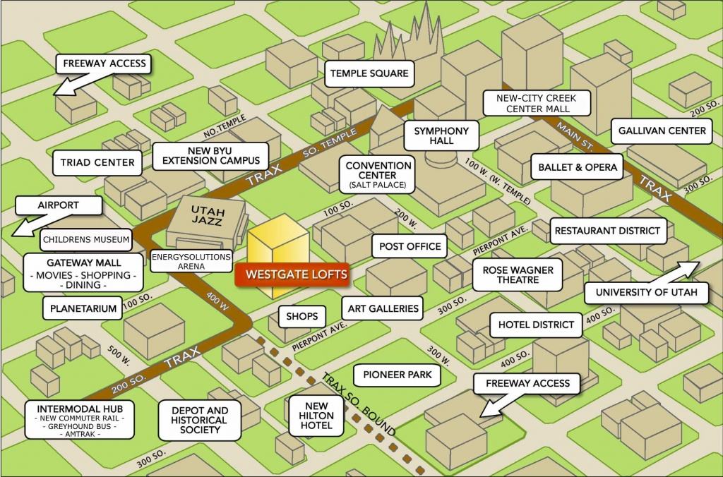 Large Salt Lake City Maps For Free Download And Print | High - Printable City Maps