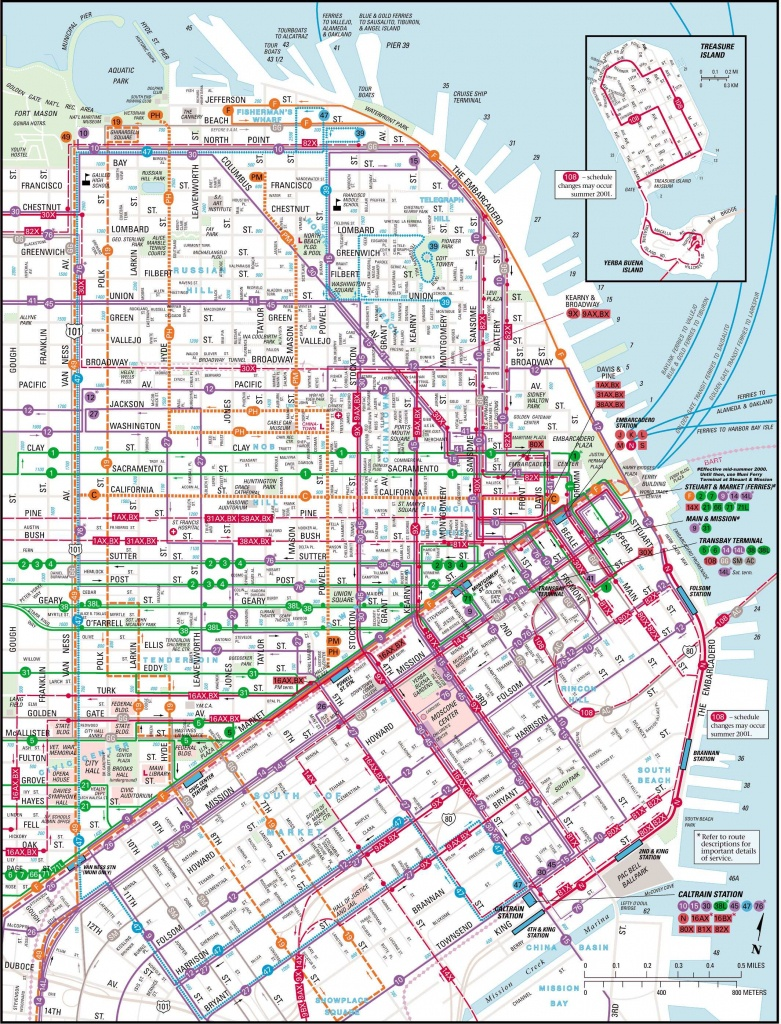 Large San Francisco Maps For Free Download And Print | High - Printable Map Of San Francisco Streets