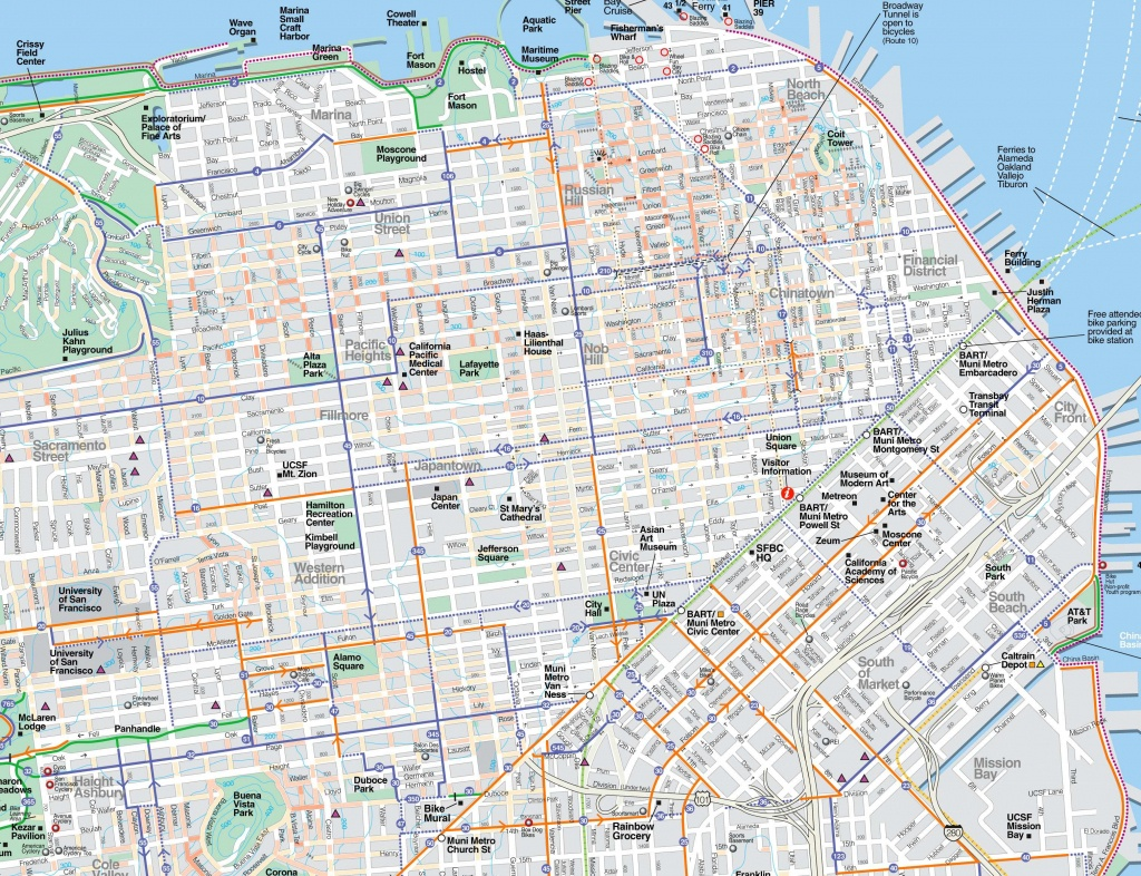 Large San Francisco Maps For Free Download And Print | High - San Francisco Tourist Map Printable