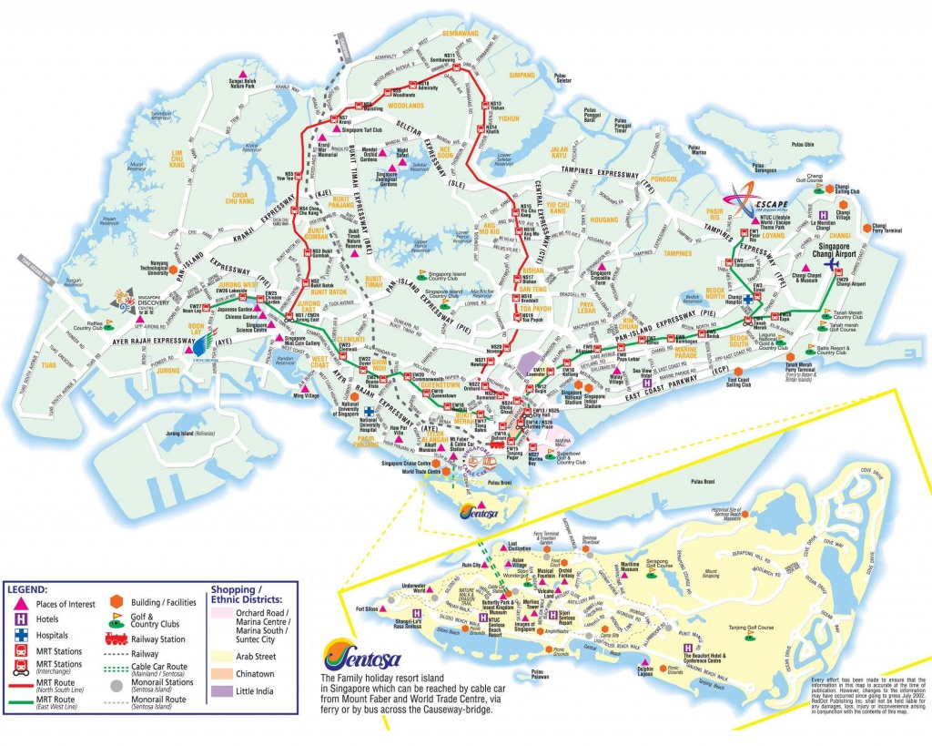 Large Singapore City Maps For Free Download And Print   High - Melaka Tourist Map Printable
