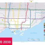 Large Subway Map Of Toronto – 2030. Toronto Large Subway Map   Toronto Subway Map Printable