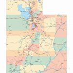 Large Utah Maps For Free Download And Print | High Resolution And   Utah Road Map Printable