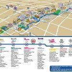 Las Vegas Strip Hotels And Casinos Map | Las Vegas | Las Vegas Strip - Printable Las Vegas Strip Map 2017