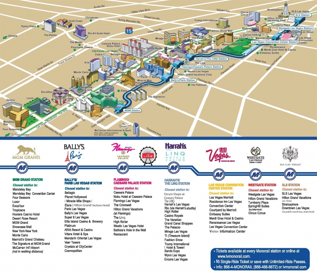 Las Vegas Strip Hotels And Casinos Map | Las Vegas | Las Vegas Strip - Printable Las Vegas Strip Map 2017