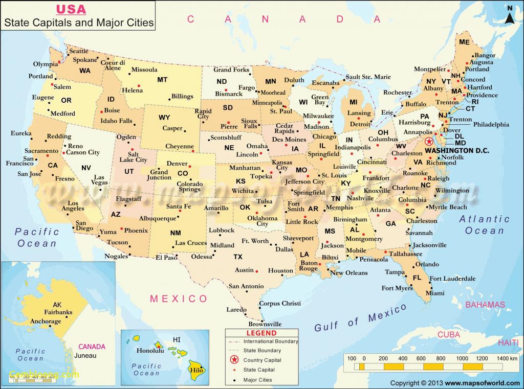 Latitude Longitude Map Of Us Us Map Inspirational United States Map - Us Map With Latitude And Longitude Printable