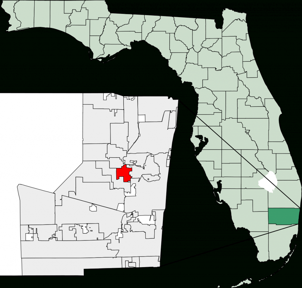 Lauderdale Lakes, Florida - Wikipedia - Map Of Hotels In Fort Lauderdale Florida