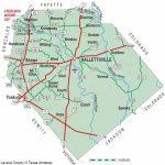 Lavaca County | The Handbook Of Texas Online| Texas State Historical   Yoakum County Texas Map