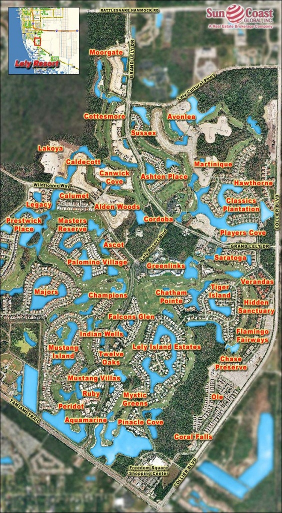Legacy At Lely Resort Real Estate Naples Florida Fla Fl - Lely Resort Naples Florida Map