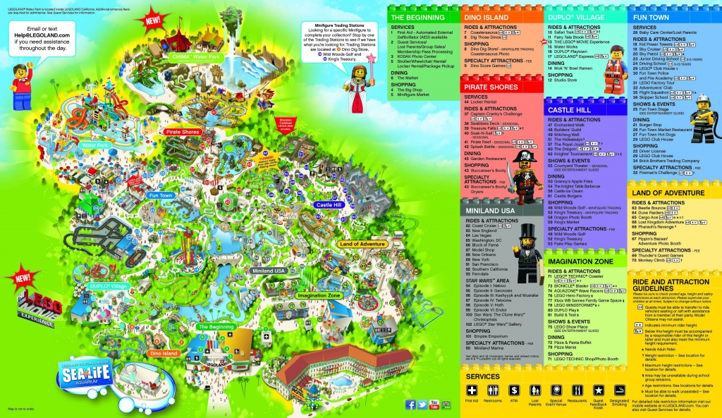 Legoland California Map San Diego – Map Of Usa District - Legoland Map California 2018