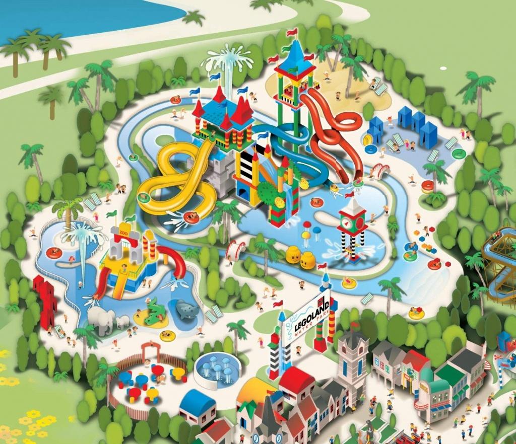 Legoland California - Waterpark | Sun Diego | Legoland California - Legoland California Water Park Map