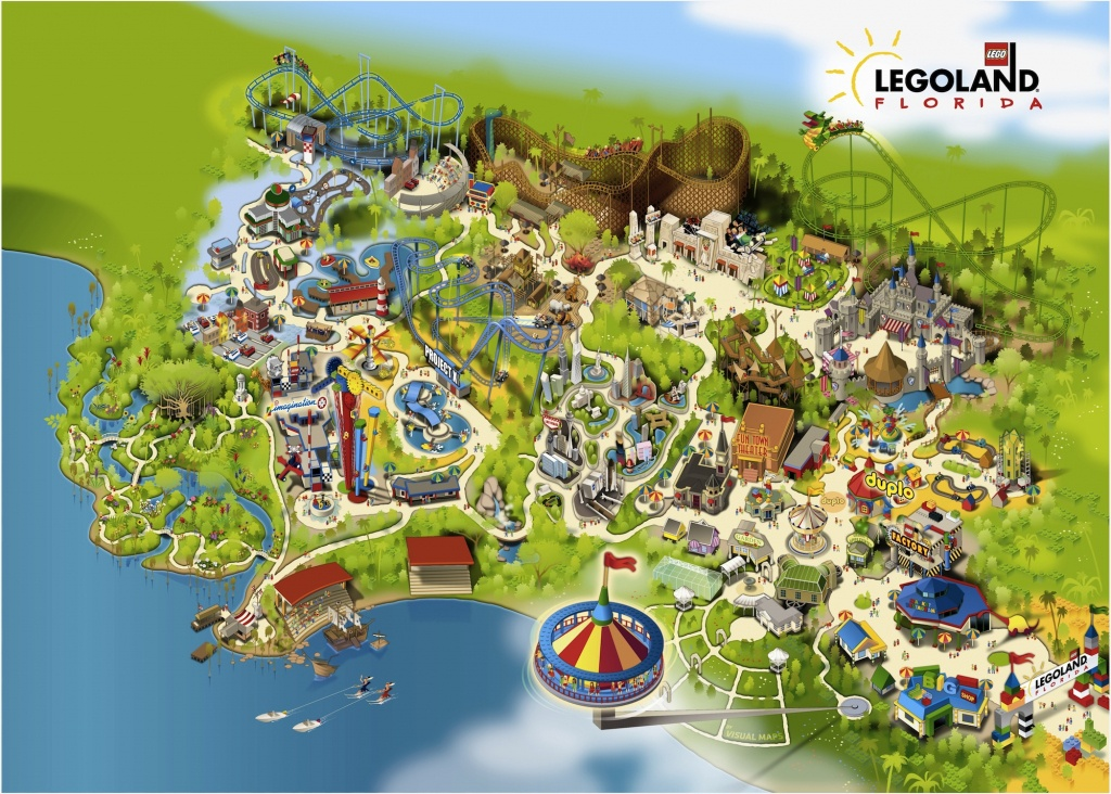 Legoland-Florida-Map-2011 | The Disney Blog - Legoland Map Florida