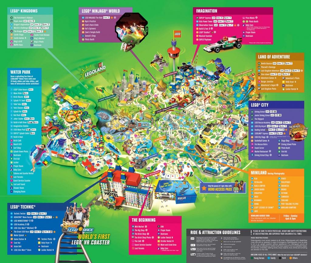 Legoland® Malaysia Rides - Legoland Florida Park Map
