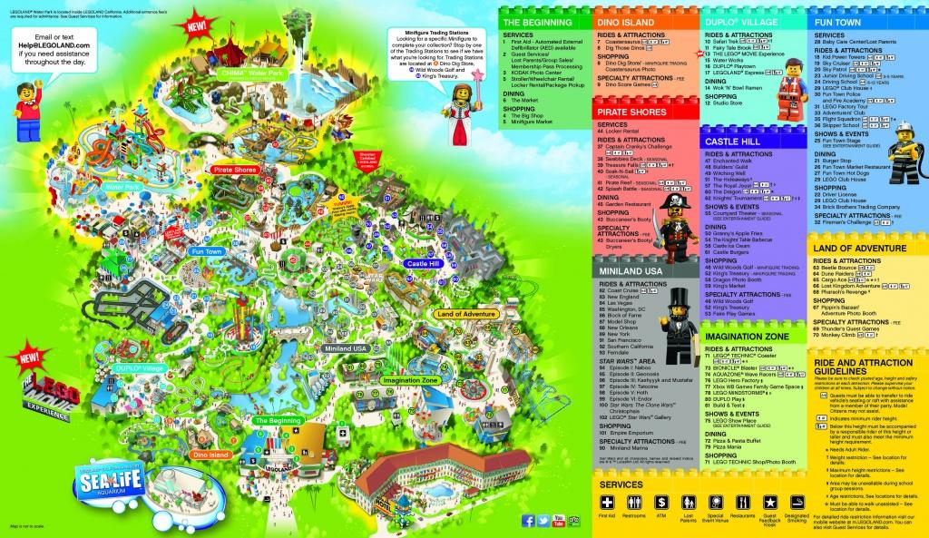 Legoland San Diego Map   Woestenhoeve - Legoland Map California Pdf