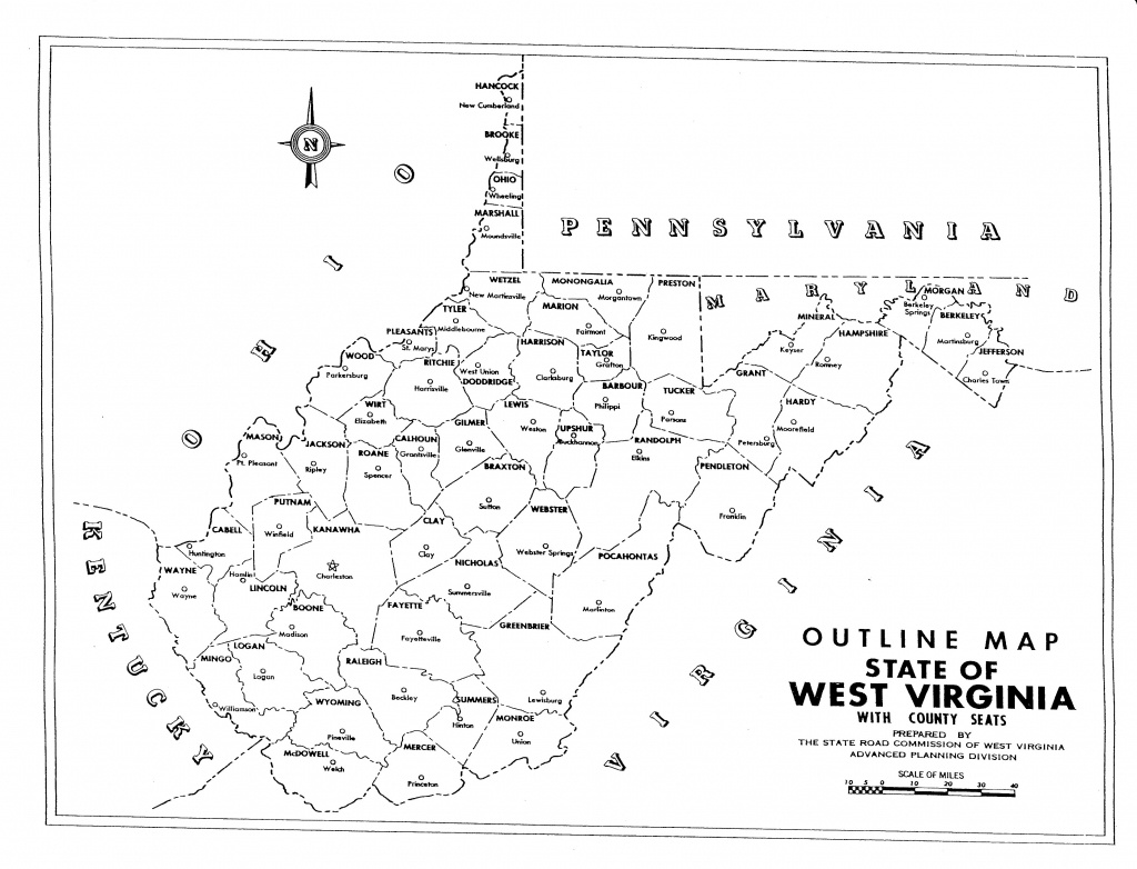 Lesson Images - Virginia County Map Printable