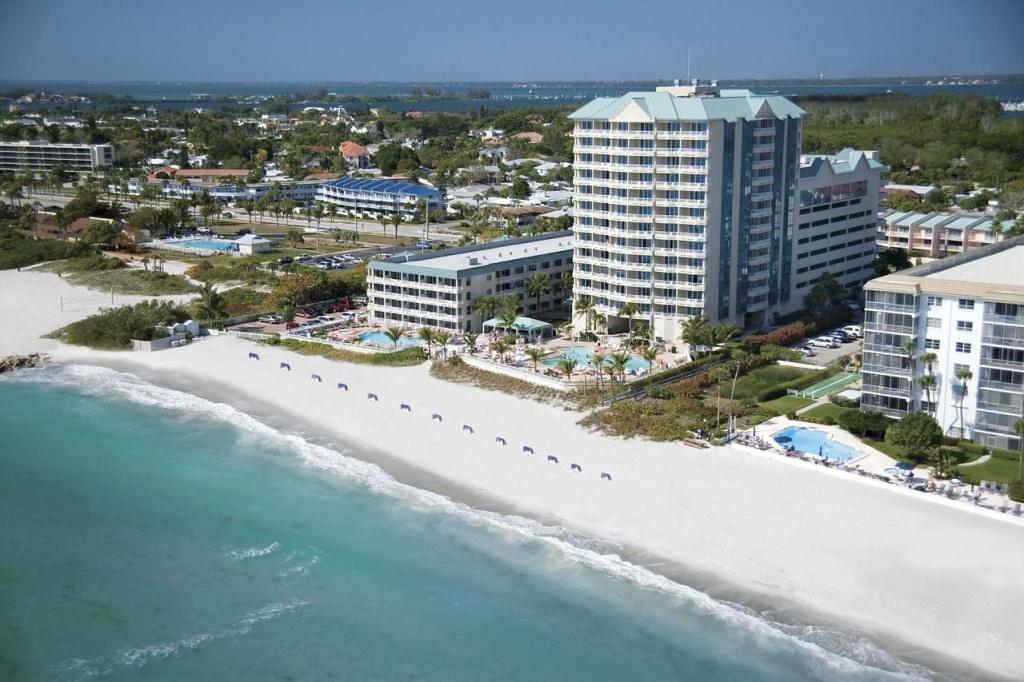 Lido Beach Resort - Sarasota, Fl - Booking - Lido Beach Florida Map