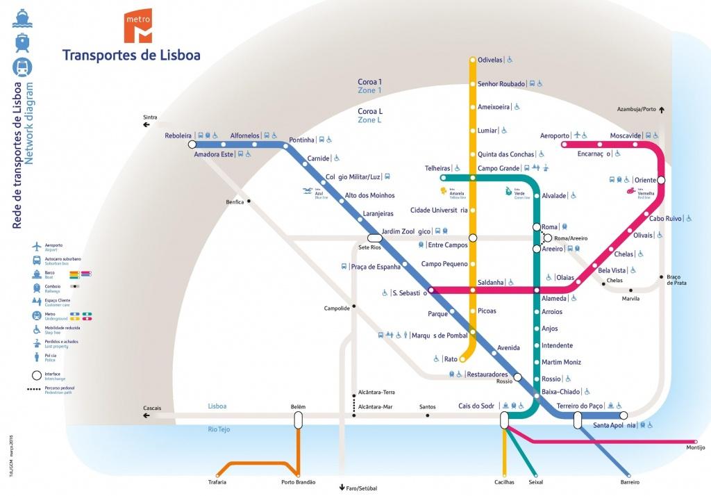 Lisbon Metro Map Australia 7 - World Wide Maps - Lisbon Metro Map Printable