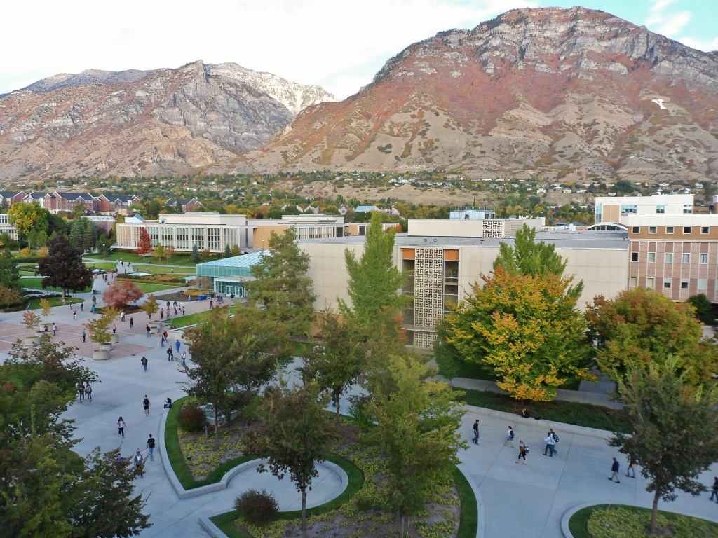 List Of Brigham Young University Buildings - Wikipedia - Byu Campus Map Printable