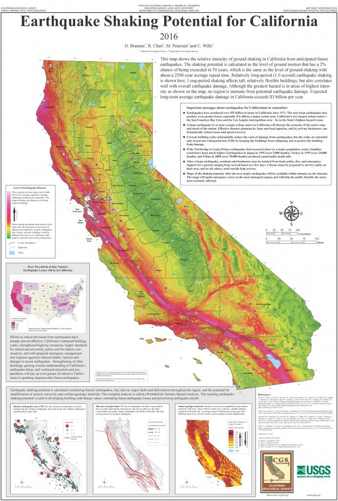 List Of Earthquakes In California - Wikipedia - California Earthquake Map