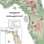 List Of First Magnitude Springs In Florida | Phillip's Natural World   Map Of Natural Springs In Florida