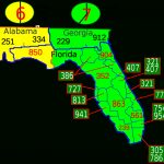List Of Florida Area Codes - Wikipedia - Florida Zip Code Map